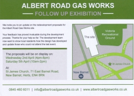ASDA public exhibition leaflet 5th February 2014