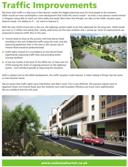 ASDA Wraparound Advert on Barnet Times 28 May 2009 - Page 71