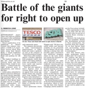 Barnet Times Article 7th May 2009