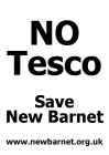 No Tesco Poster A4