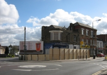 15 East Barnet Road Hoarding