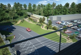Artists Impression of ASDA Development June 2008