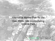 Alternative Master Plan For Gas Works Site Slides