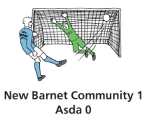 New Barnet Community 1 - ASDA 0
