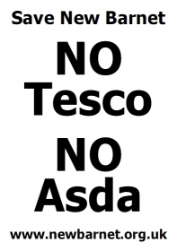 No Tesco No Asda Poster