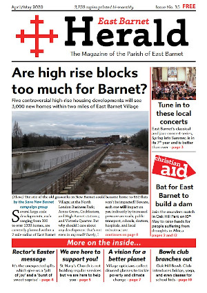 East Barnet Herald April May 2020 page 1