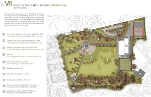 Victoria Recreation Ground Masterplan